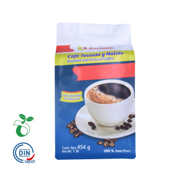 Customized Printed Biodegradable Compostable Coffee Bags