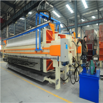 Factory making for Waste Water Treatment Equipment Plate and Fram Filter Press Machine export to Poland Factory