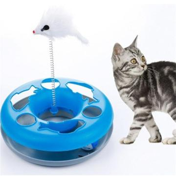 4 Colors New Spring Cat Toy