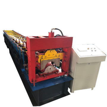 Color Sheet Steel Metal Roof Ridge Cap Machine