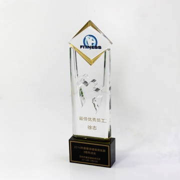 Corporate service trophies and awards