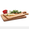 Rectangular cutting board with handle  olive wood