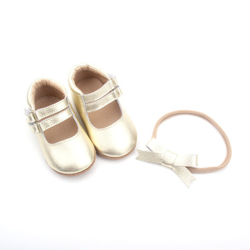 New Arrival Leather Baby Shoes Girl Dress Shoes