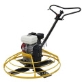 Hand - held gasoline concrete floor polisher