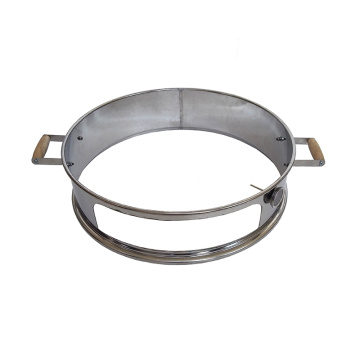 Stainless Steel Pizza Ring For 22.5-Inch Kettle Grills
