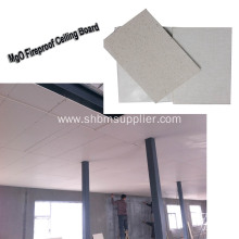 Moistureproof Fire-resistant Ceiling Panel 6mm MgO Board