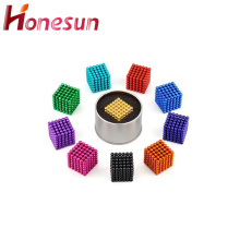 Hot sale Multicolor N35 5mm neodymium magnets balls
