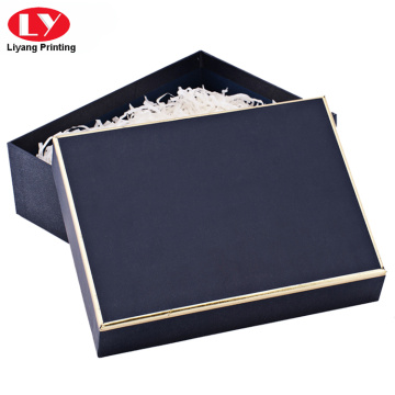 Navy luho nga pashmina scarf packaging box