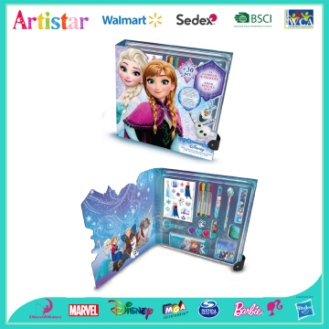 DISNEY FROZEN over 30pieces deluxe activity set