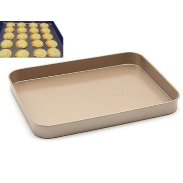 Non-Stick Bakeware Square Shape Cookie Sheet