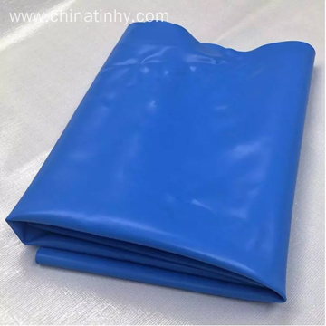 Blue black color hdpe geomembrane