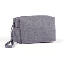 Wholesale Custom Logo Canvas Cosmetic Bag Necessary