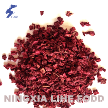 Red beet 10*10*10MM air dried purple beet flakes & powder