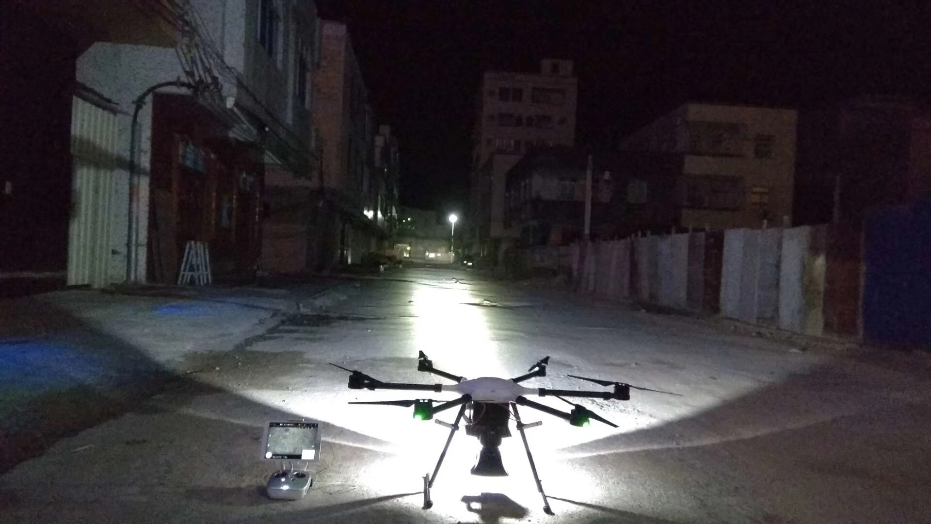 X1133 searching light Drone