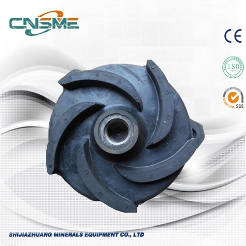 Rubber Vertical Pump Impeller