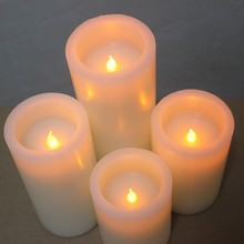 China OEM for Home Flameless Led Candle Good quality wax simulated led flameless pillar export to United States Exporter
