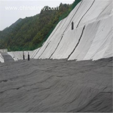 Geotextile used for stabilize steep slopes