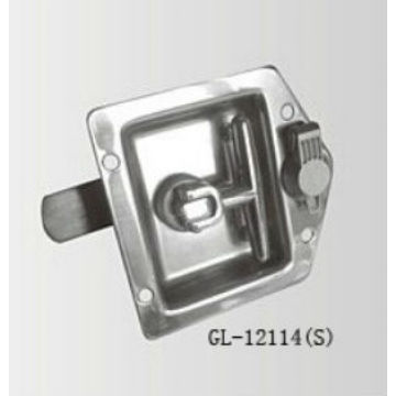 Flush Mount Recessed T Handle Truck Box Lock