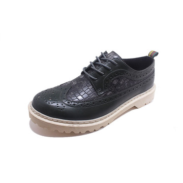 2020 Brand Men Shoes Leather material