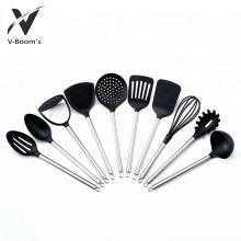 6PCS S/S Handle Nylon Utensils Tools Set