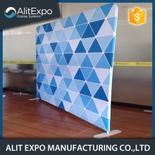 Magnetic trade show fabric back wall