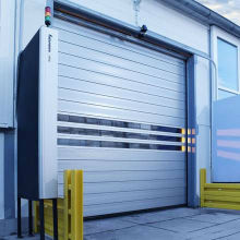 Aluminum Rapid Spiral Door for Warehouse