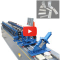 Double Furring Channel Roll Forming Machine