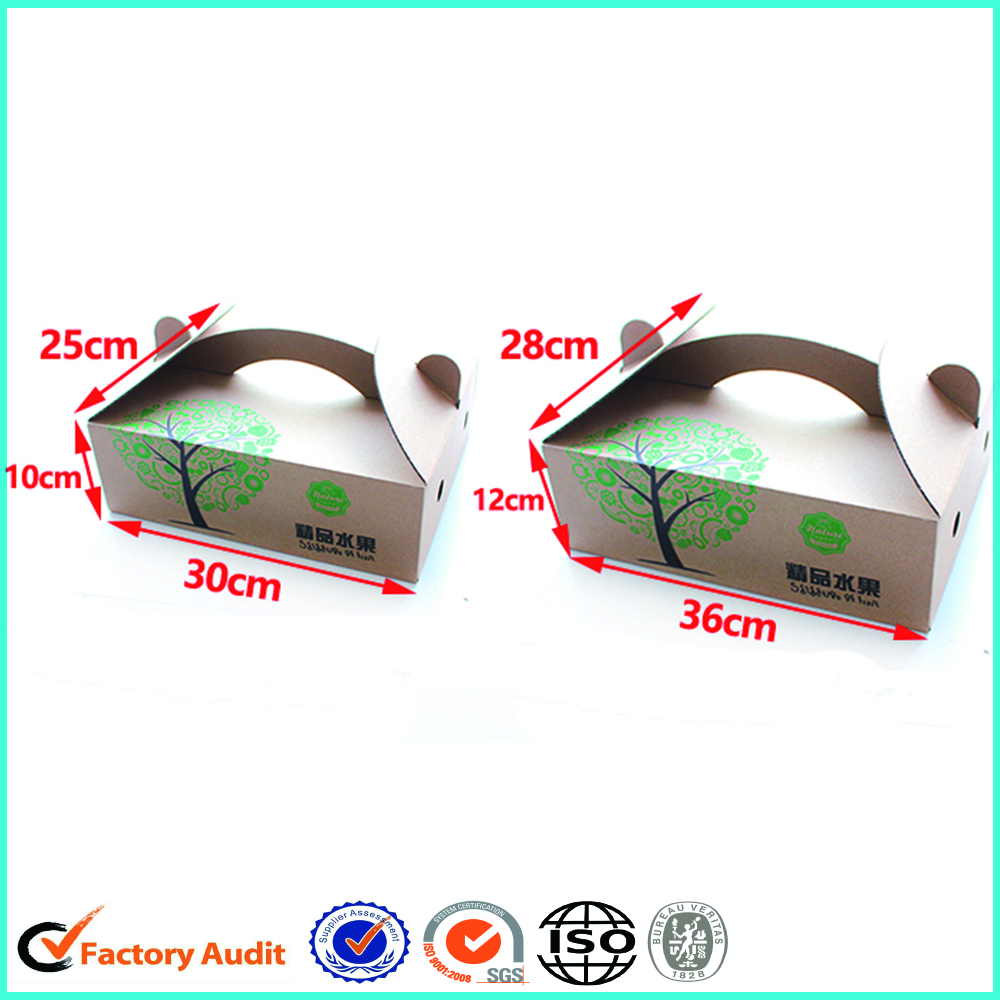 Promotional Fruit Packaging Box Paper Cardboard Box