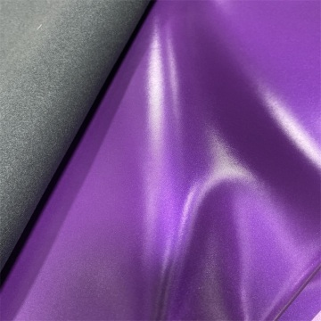 Custom Shiny Mirror Surface PU Leather for Craft