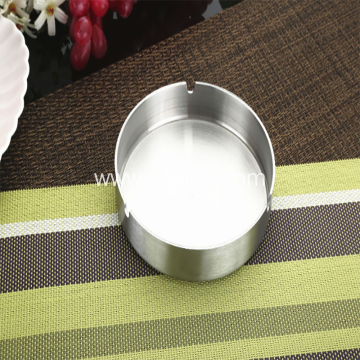 Thick And Simple Practical Stainless Steel Ashtray
