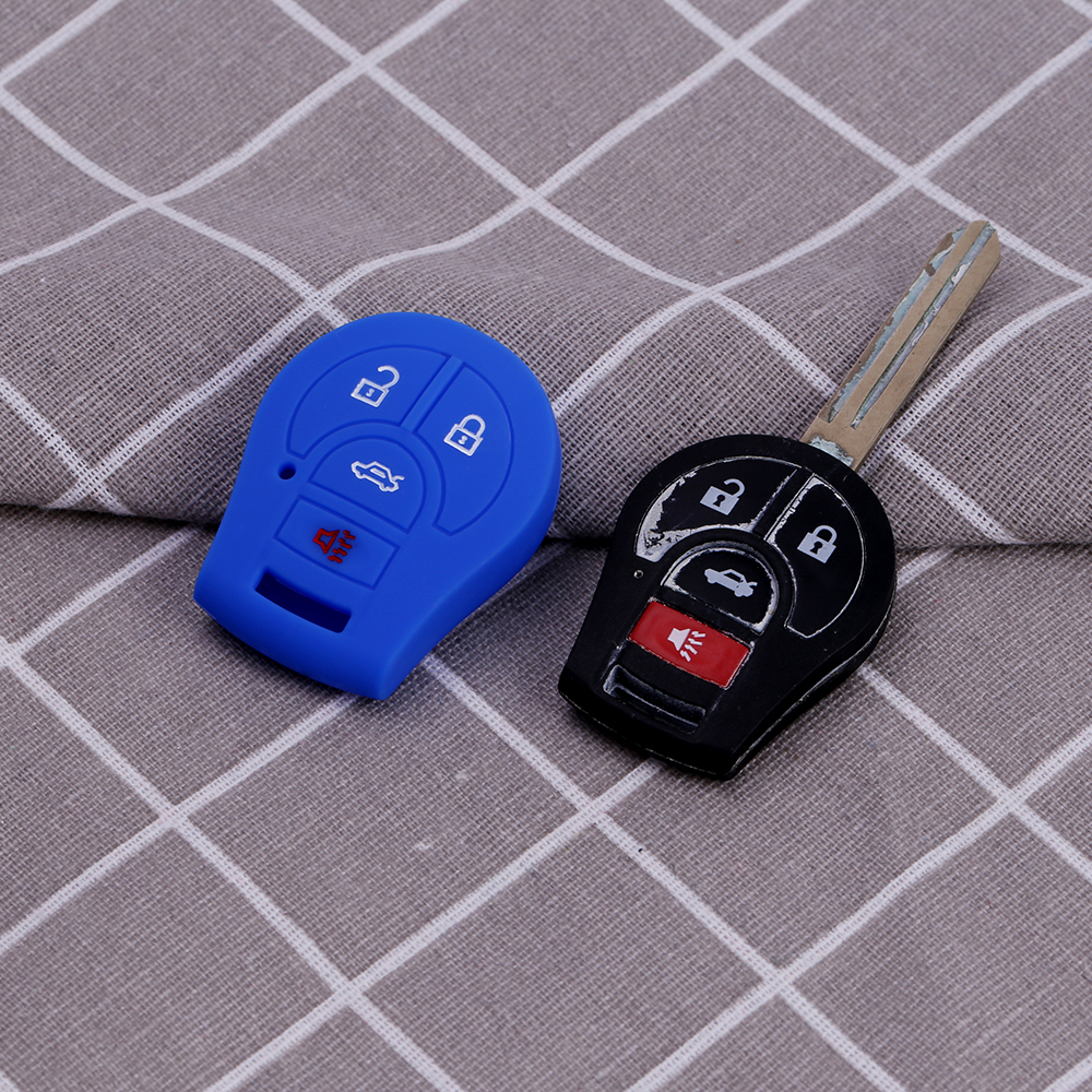 nissan key fob cover 5 button
