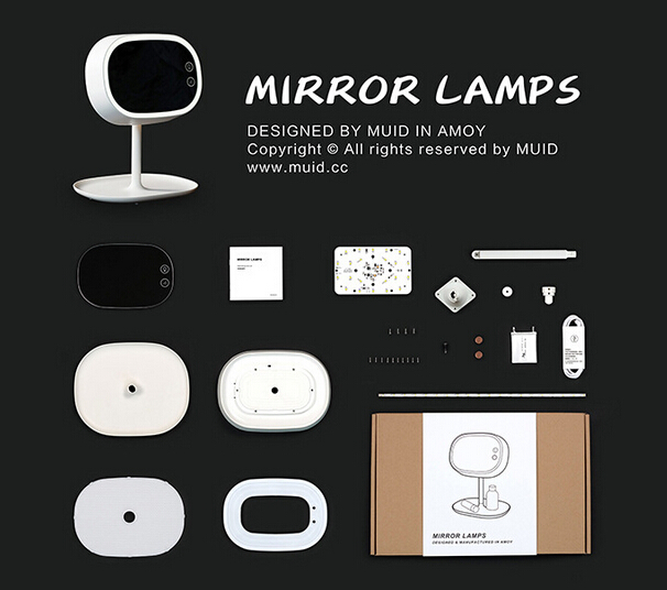Makeup Mirror Lamp Vanity LED Night Light