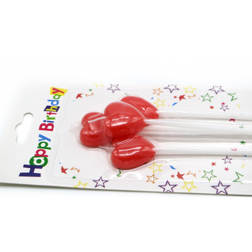 Color Printing Birthday Cartoon Candle With Stickers