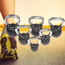 Wholesale Price for Coated Standard Kettlebell Vinyl Coated Steel Standard Kettlebell for man training export to Chad Supplier