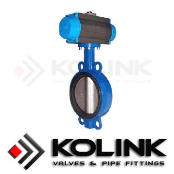 Professional Manufacturer for Resilient Seated Butterfly Valve. Pneumatic Actuated Butterfly Valve supply to Norfolk Island Supplier