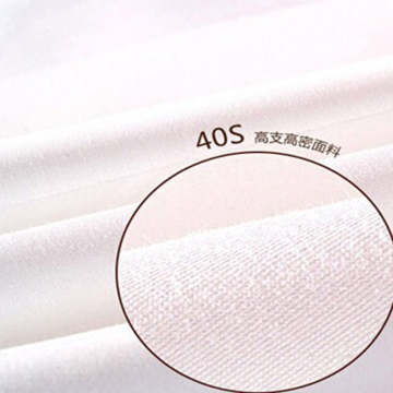 Factory Cheap price for Cvc Sateen Fabric 250T-400T CVC Sateen Bleached Fabric for Hotel export to Italy Exporter