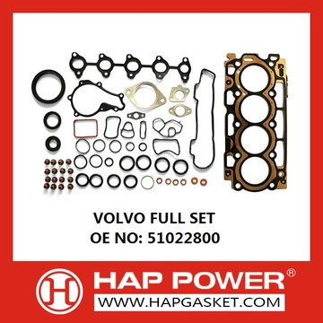 Factory directly sale for Engine Complete Gasket Set Volvo Full Set 51022800 supply to Malta Importers