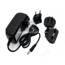 worldwide travel wall Plug 12v1a Power Adapter