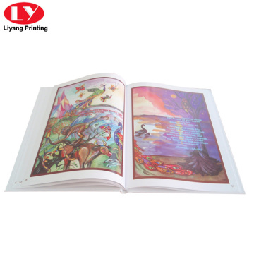 Print hardcover children story books