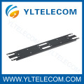 19 Inch Black/Grey Blank Panel For 110 IDC Block 2U