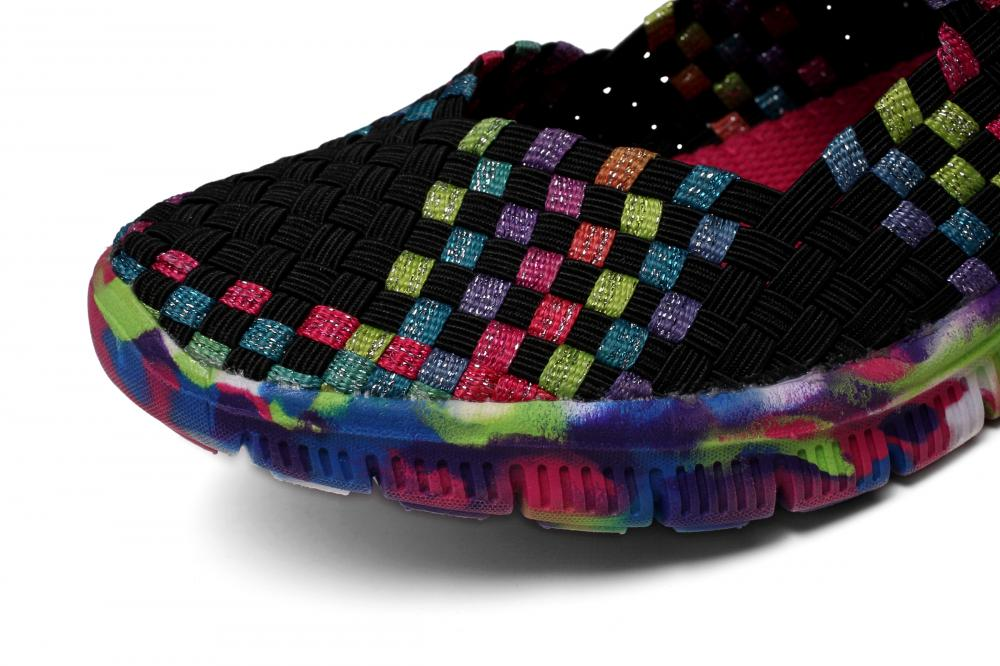 Multi-color Woven Upper