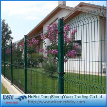 hot dip galvanized PVC coated fence 3d
