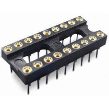 1.778mm Dual-in-line Socket Straight Dip