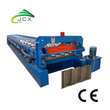 OEM for Corrugated Roof Making Decking sheet roll forming machine export to Spain Wholesale