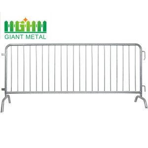Galvanized Steel Temporary Crowd Control Barrier Fence