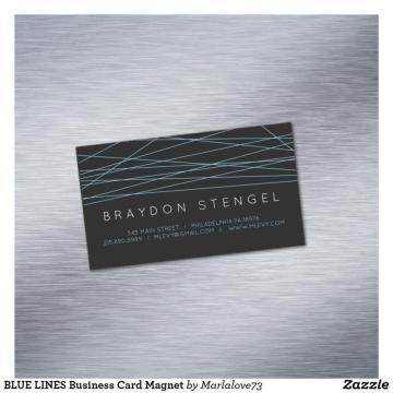 Customs full color print business card magnet