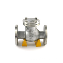 JKTL hot water dn400 spring vertical type flanged check valve