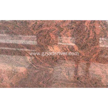 Multicolor Red Granite Stone for Countertops