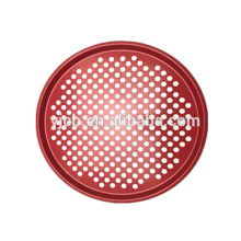 Red 32cm Pizza Plate Dishes Baking Pan Tray