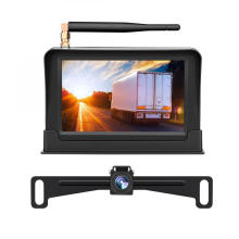Parking Assistance Wireless Backup Camera System Licesne Plate Frame Rear View Camera Kit